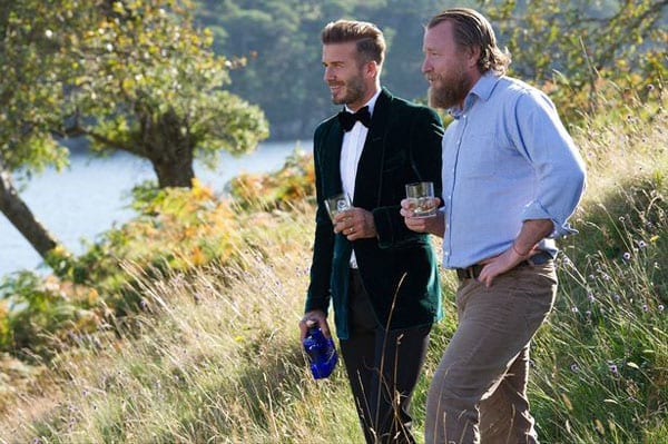 David Beckham and Guy Ritchie were at Glen Affric last week to shoot an advertisement for Haig Club
