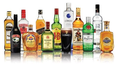 Diageo's portfolio is vast and includes many well known brands such as J&B and Baileys