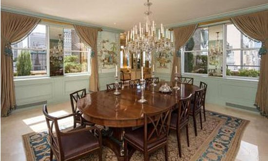 The Haroche's dining room
