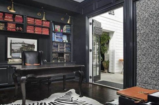 Disick's study isn't exactly inspiring either