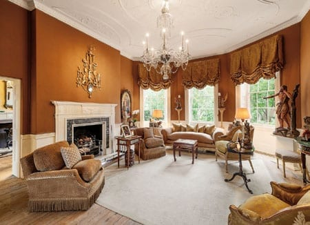 The house features a double drawing room