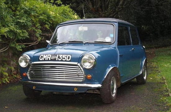 Dr Alexander Moulton CBE's 1966 Morris Mini Cooper 'S' is the highlight of the Bonhams sale
