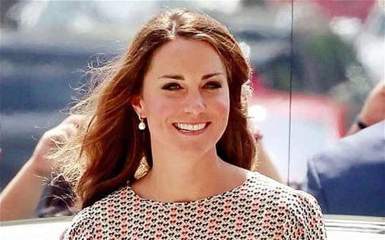 The lady formerly known as Kate Middleton: Her Royal Highness Princess William, Duchess of Cambridge, Countess of Strathearn, Baroness Carrickfergus