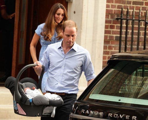The Duke and Duchess of Cambridge with Prince George departed from St. Mary's Hospital last week in their Range Rover. It will be the perfect vehicle for their forthcoming venture into rural life.