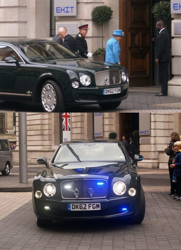 A Monarch's Mulsanne – 2012 Bentley Mulsanne used by Her Majesty Queen Elizabeth II between 2012 and 2014 for sale for £199,850 through Bramley Motors in Surrey