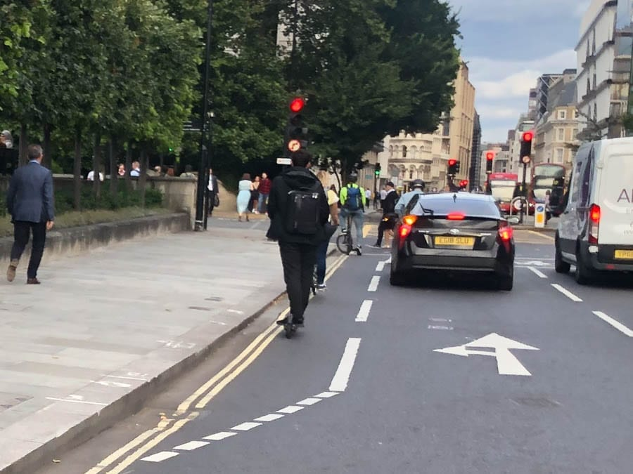 Name & Shame – The Road Raging Ratbag – Acid tongued prat on a 'mobile weapon' that is an electric scooter called out for what he is – a vile menace who should be removed from the roads.