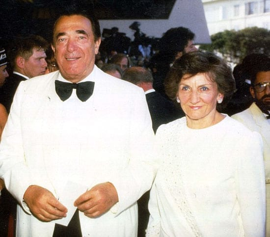PKT5571-408088ROBERT MAXWELLBUSINESSMAN1996Robert Maxwell and wife Betty