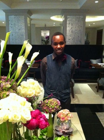 We were most ably catered for by the hotel's Felix Muigai