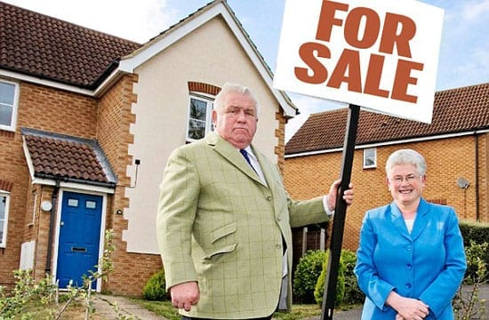 Fergus and Judith Wilson are selling up