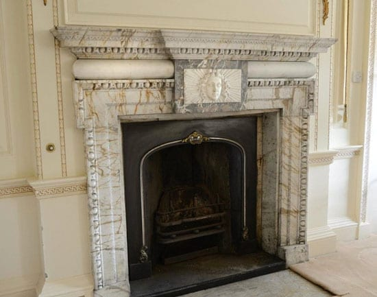 """One of many """"outstanding"""" fireplaces"""