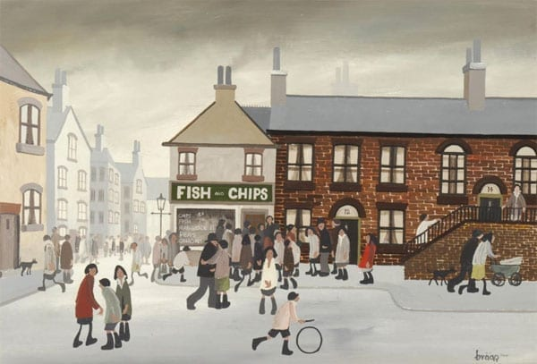 'Fish and Chips' by Brian 'Braaq 'Shields