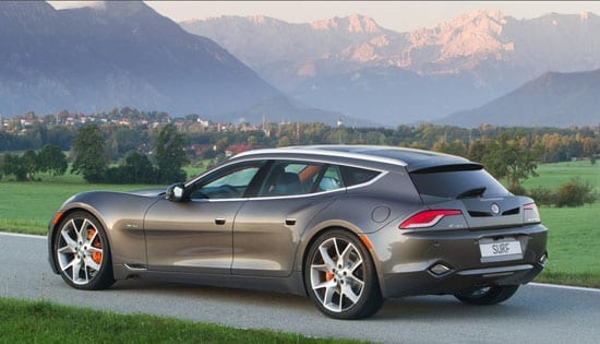 Other planned models numbered the Fisker Surf