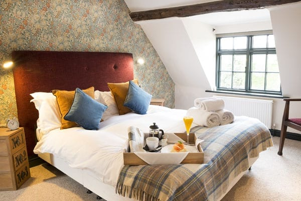 For those who decide to stay the night there are also eight rooms at The Yew Tree Inn