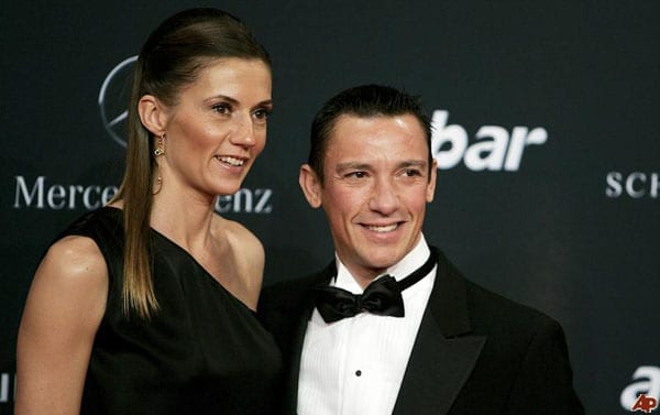 Frankie Dettori and his wife Catherine