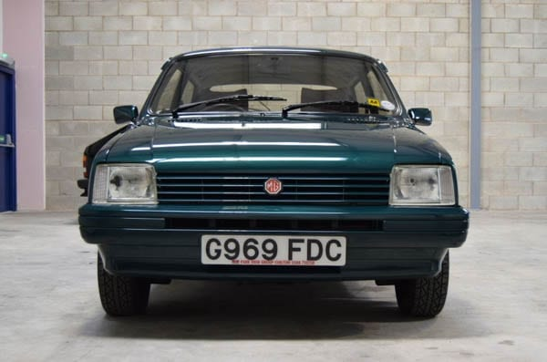 Moving a Metro – As new 1990 MG Rover Metro for sale for a pretty penny – East Lancashire Classics – 1,707 miles - £12,995