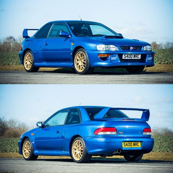 Prince Naseem's Subaru from Hell – 1998 Subaru Impreza 22B STi formerly owned by Prince Naseem Hamed – Auction: 20th May 2016 – Silverstone Auctions