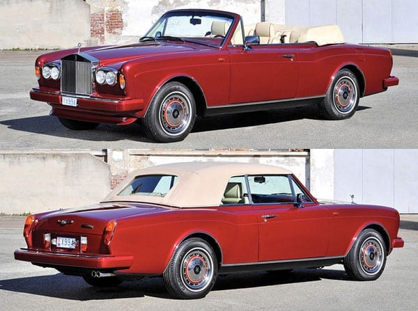 A Red Roller – 1995 Rolls-Royce Corniche IV drophead coupé by Mulliner Park Ward – £104,000 to £128,000 ($147,000 to $181,000 or €130,000 to €160,000) – RM Sotheby's auction – Monaco – 14th May 2016