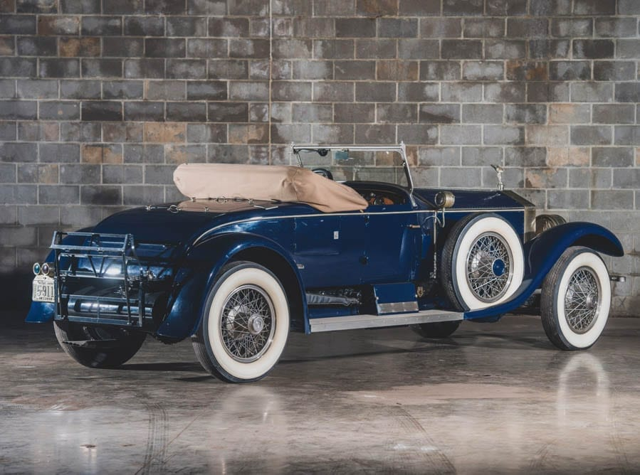 Gene's Machine – Gene Littler owned 1925 Rolls-Royce 40/50 HP Silver Ghost Piccadilly roadster by Merrimac – 1925 Rolls-Royce Silver Ghost Piccadilly roadster once owned by golfing legend 'Gene the Machine' to be sold at auction in May – RM Sotheby's offer the car without reserve but have set an estimate of £135,000 to £174,000 ($175,000 to $225,000, €157,000 to €202,000 or درهم643,000 to درهم826,000) for this stunning Springfield Ghost. It will be sold as part of the Guyton Collection on Saturday 4th March in St. Louis, Missouri.