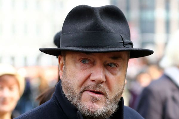 Actor Steven Berkoff has no respect for George Galloway MP