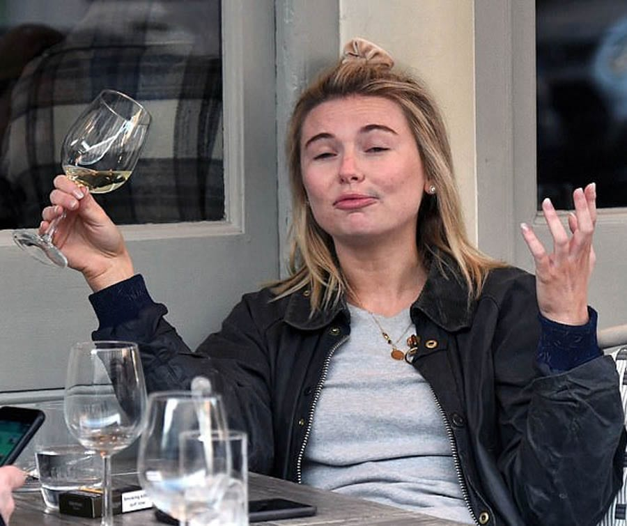Tubby Toff & Prattish Posh-Boy Unite: Georgia Toffolo & George Cottrell – That a 'Made in Chelsea' prat named 'Toff' has been spotted with a convicted criminal and ex-aide to Nigel Farage is nothing but telling.