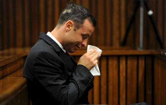 Given his behaviour during the trial Oscar Pistorius' crocodile tears are turning many against him