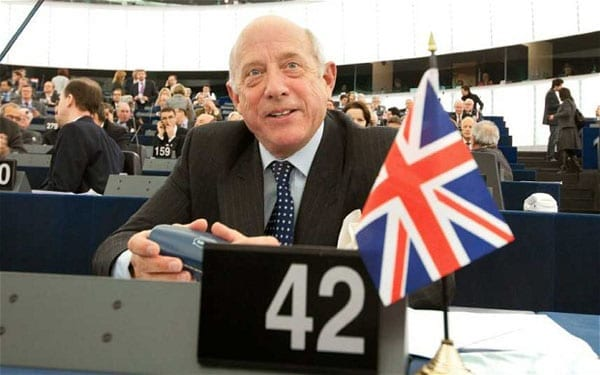 Godfrey Bloom now believes UKIP to be a party run by back stabbers
