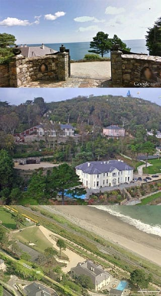 The O'Donnells formerly lived at the palatial Gorse Hill on Vico Road in Killiney, Ireland. It was owned by the Isle of Man based company Vico Ltd.