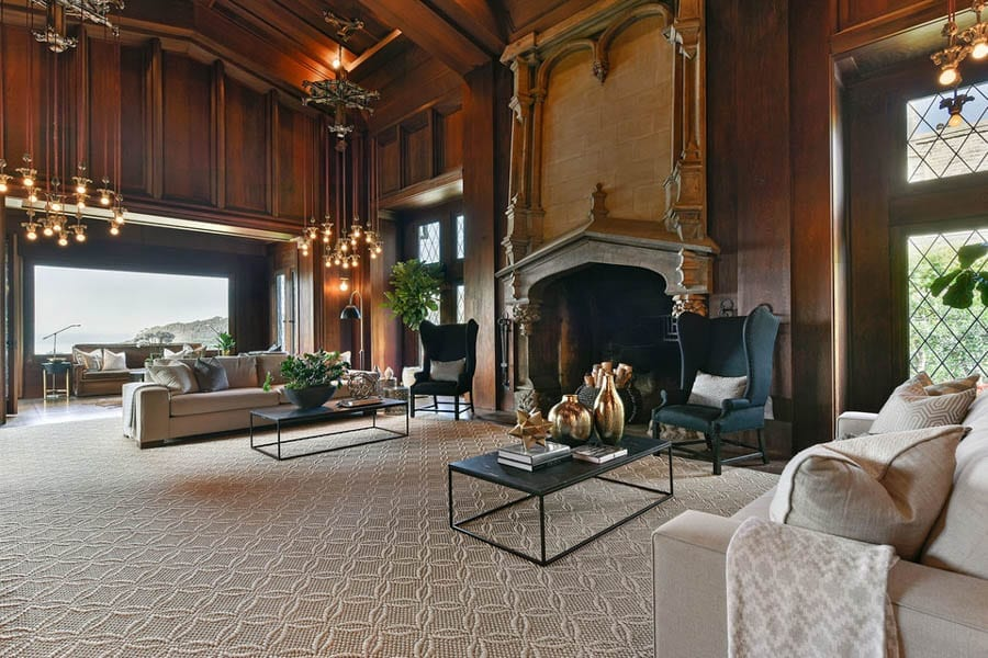Great Minus Garden – Roos House, 3500 Jackson Street at Locust, Presidio Heights, San Francisco, CA 94118, United States of America – For sale for £12.2 million ($16 million million, €14 million or درهم58.8 million) through Nina Hatvany. Built for Leon and Elizabeth Roos by Bernard Maybeck. Owned by Dr. Jane Schaefer Roos, the widow of Leslie Roos.