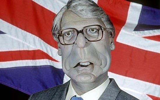 The special relationship is now just about as grey as John Major