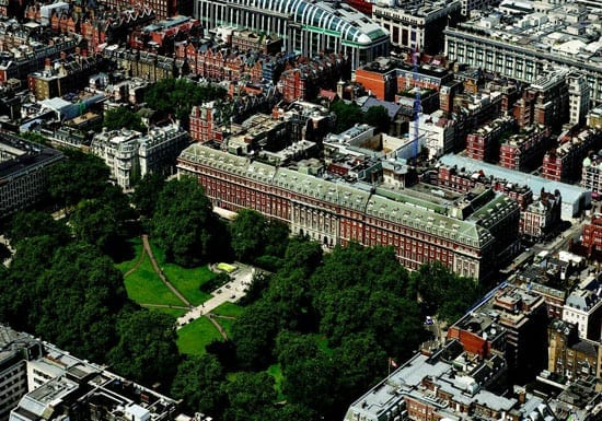 Grosvenor Square is set to become London's most expensive square