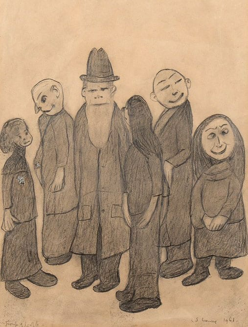'Group of People' by Laurence Stephen Lowry
