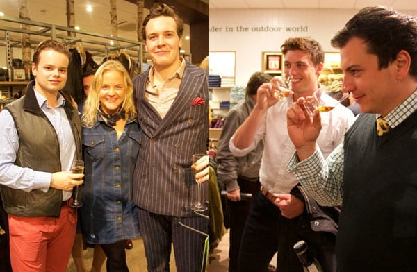 Celebrating Orvis - Orvis party, Regent Street, London - 15th October 2015