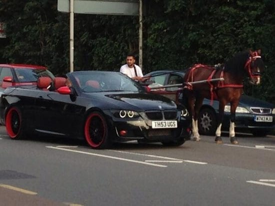Gypsies and thugs and a very tacky Beemer - TH53 UGS