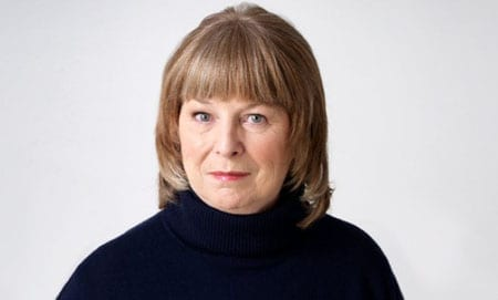 "Heather Bell who has recently returned to BBC Radio 4's ""The Archers"" as Clarrie Grundy"