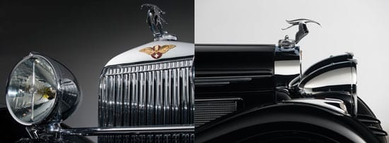 The Hispano-Suiza featured an iconic stork mascot