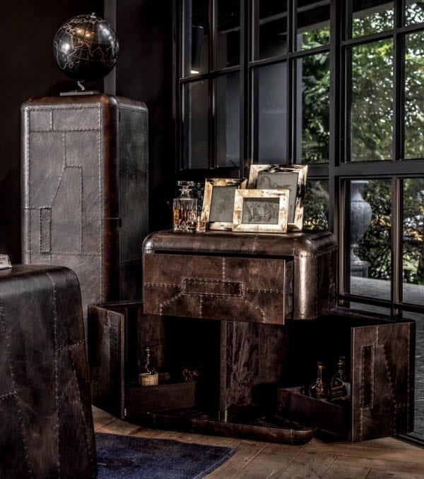 Five of the Best Christmas Gifts for Him 2016 – Timothy Oulton Hudson bar cabinet, My Electric Vehicle MEV™ Hummer HX, Fairfax & Favour The Balmorals, Enzo Barracco The Noise of Ice: Antarctica, Augustus Brandt My Style travel bags