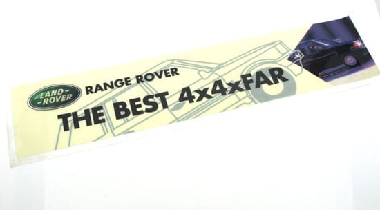 """The fact that it has lasted 40 years is indeed proof that Land Rover's """"The Best 4x4xFar"""" is indeed well grounded"""