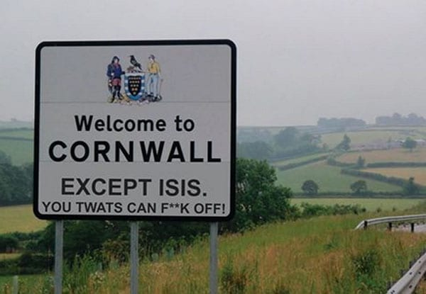 Picture of the Week: No welcome for ISIS
