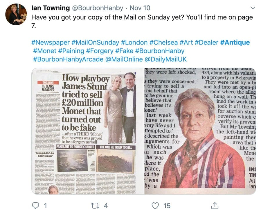 Tosspot Towning – Truth about peddler of junk Ian Towning revealed – 'The Steeple Times' exposes the truth about the shameless drag queen-esque peddler of junk Ian Towning. Pictured camping it up with the now deceased paedophile Max Clifford.