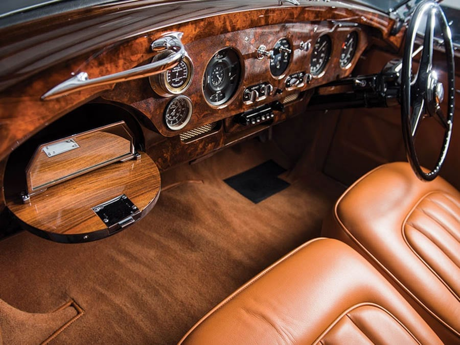 The Honeymoon Express –1958 Rolls-Royce Silver Cloud I drophead coupé – £1.1 million to £1.5 million ($1.3 million to $1.8 million, €1.2 million to € 1.7 million or درهم 4.8 million to درهم 6.6 million) for sale through RM Sotheby's at Amelia Island on 10th March 2017 – From the collection of Orin C. Smith