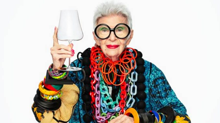 Ice Cream Iris – Iris Apfel becomes an ambassador for Magnum – Nonagenarian Iris Apfel yet again proves herself to be a truly brilliant gem; we should all heed her life and enjoy life to the full.