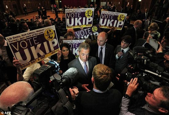 It is time for the mainstream political parties to get a grip in the wake of UKIP's victory