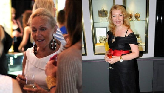 Jackie Branston and Irina Bormotova-Koomson both dazzled and the drinks flowed