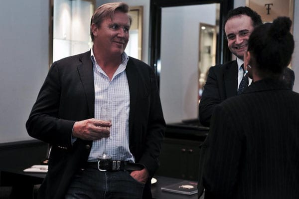 Salvage Europe founder James Ruig and barrister James Dove