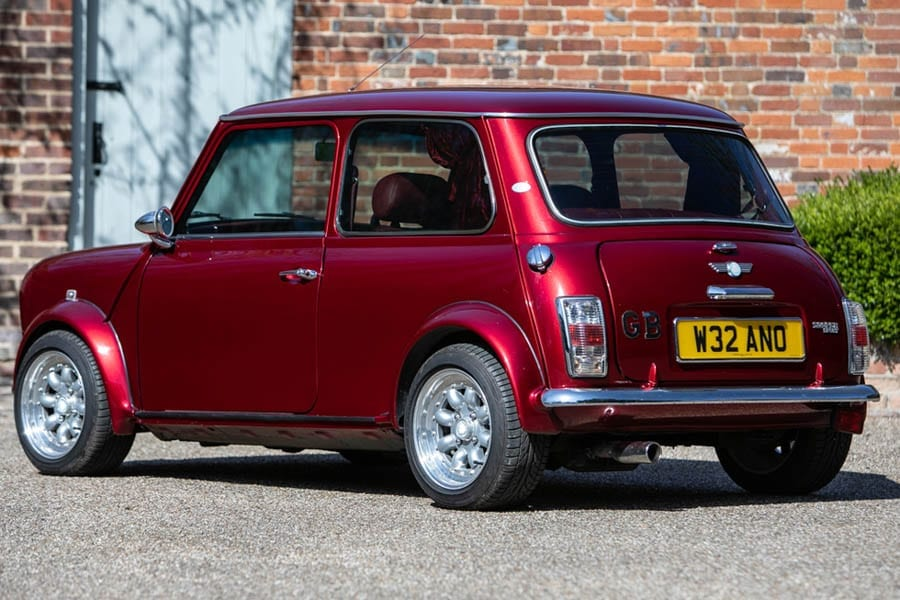 The Car's The Bar – 2000 Rover Mini Cooper Sport owned by Jay Kay – Mini Cooper Sport nicknamed 'Chuckles' by singer-songwriter owner Jay Kay of Jamiroquai to be auctioned; it comes complete with a mini bar and a disco light.