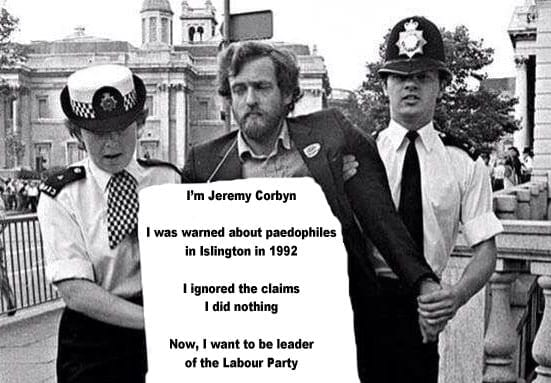 Apology required – Jeremy Corbyn – at the very least – should issue an apology for his failure to act on the allegations of systematic abuse that he was presented with in 1992