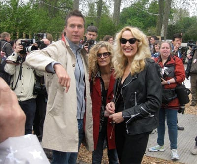 Actress Jerry Hall