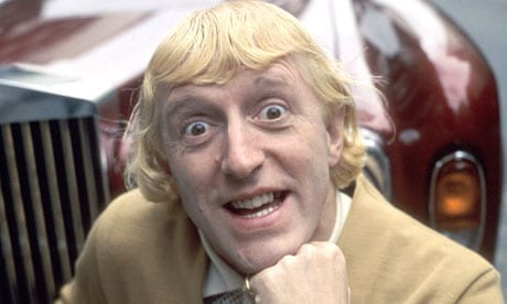 The late Jimmy Savile