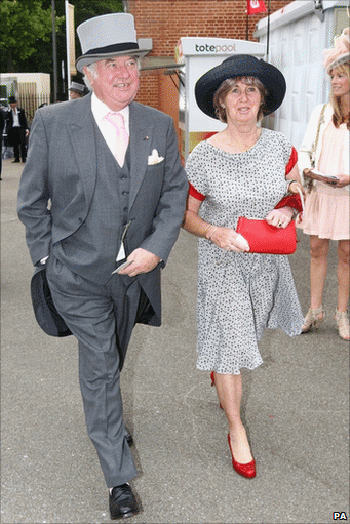 Jimmy and Pauline Tarbuck live in Coombe, Kingston upon Thames, south west London