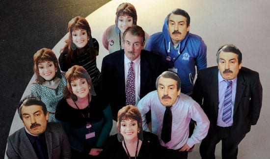 John Challis and friends
